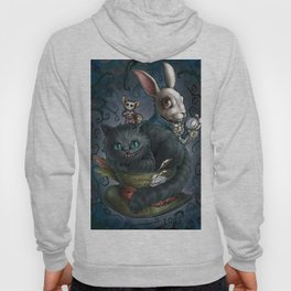 The Cheshire Cat and his friends Hoody