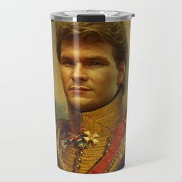 Patrick Swayze - replaceface Travel Mug