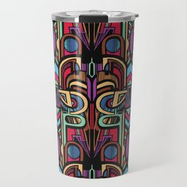 Chevron - The Battle Starts Within Travel Mug