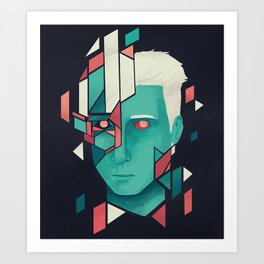 Shapeless 2 Art Print
