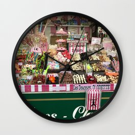 Candy Stand Wall Clock