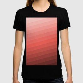 shades of pink T-shirt
