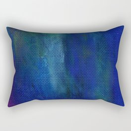 acrylic brushstrokes background Rectangular Pillow
