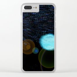 Outer Space Clear iPhone Case