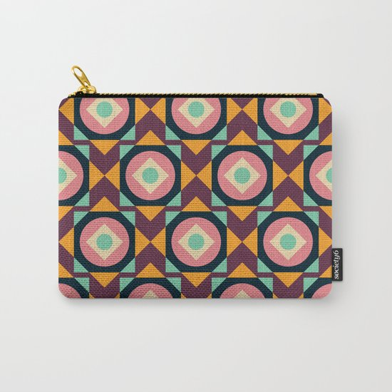 Geometric#31 Carry-All Pouch