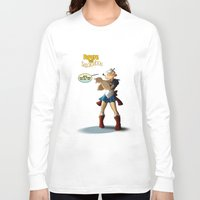 popeye Long Sleeve T-shirts featuring Popeye the Sailor Moon by bluthan