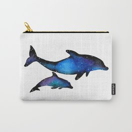 Cosmic Dolphins Carry-All Pouch