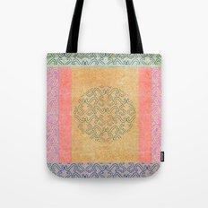 Coral Melody Tote Bag