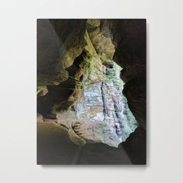 The View from the Cave Metal Print