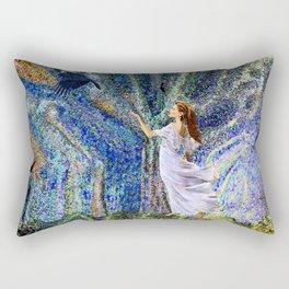 Vernal Equinox - Mystic Night Rectangular Pillow