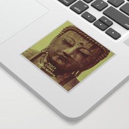 Buddha Duotone 3 Sticker