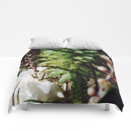 Succulent and Wildflowers Comforters