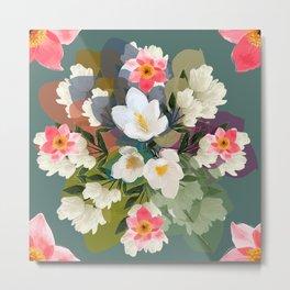 Flower & the Glory Metal Print