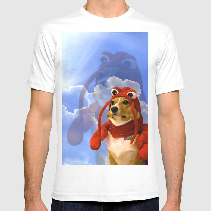 c1f907c8ece2 Lobster Corgi T-shirt by eliseccv