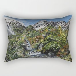 Mt Cook, New Zealand Rectangular Pillow