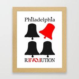 rEVOLution Philadelphia Framed Art Print