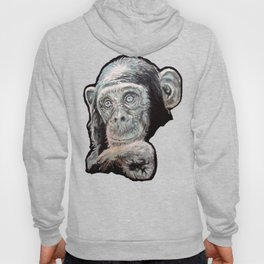 a Jane Goodall quote - black Hoody