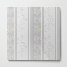 Grey stripes . Metal Print