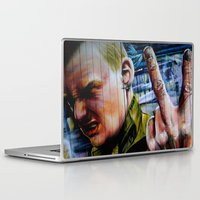 rebel Laptop & iPad Skins featuring Rebel by Global Graphiti