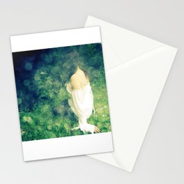 Forest lady Stationery Cards
