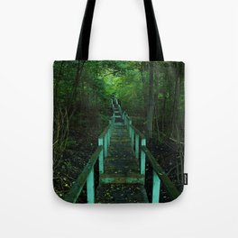 Forest Staircase (up) Tote Bag