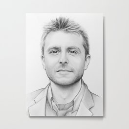 Chris Hardwick Metal Print