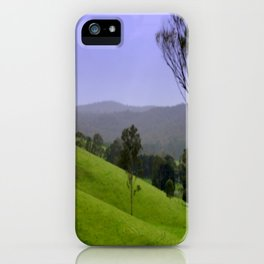 """Valley of a Thousand Hills"" iPhone Case"