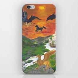 A Dream of Fantasy iPhone Skin