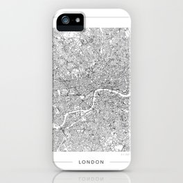London Map 2 iPhone Case