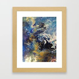 fluid Framed Art Print