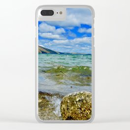 Lake Willoughby Clear iPhone Case