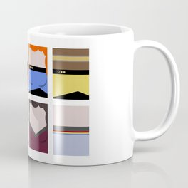Enterprise 1701 D - Minimalist Star Trek TNG The Next Generation - startrek - Trektangles  Coffee Mug