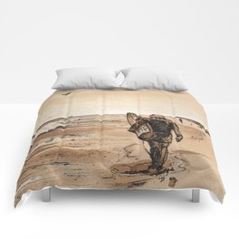 Coffee Art- Surf Comforters