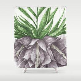 Fritillaria Lavendar Shower Curtain