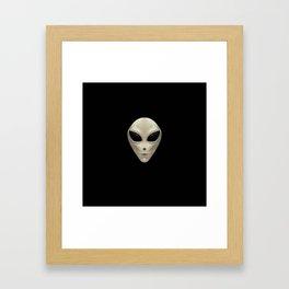 Grey Alien Framed Art Print