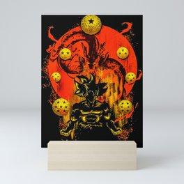 DBZ Mini Art Print