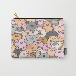 Pigs, Piglets & A Swine! Carry-All Pouch