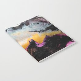 Abstract acrylic painting 5 Notebook