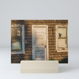 Abandoned Shack, Washburn, North Dakota 2 Mini Art Print