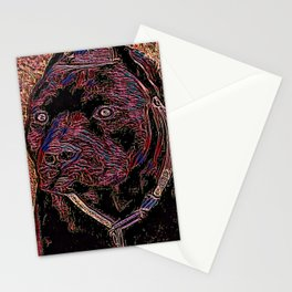 Pit Bull Models: Khan 02-05 Stationery Cards