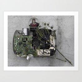 Tech Oracle Art Print