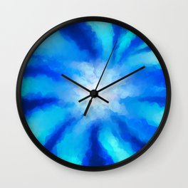Tropical Sea Flower Wall Clock