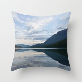 When the fish don't bite Throw Pillow