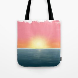 Peaceful Current Tote Bag