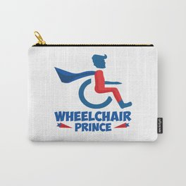 Funny Wheelchair Walking Disability Carer Gift Carry-All Pouch