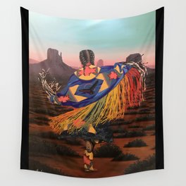 Shaw Dancer #3 Wall Tapestry