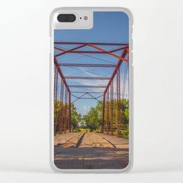 Stephens Bridge, North Dakota, 5 Clear iPhone Case
