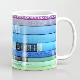 Vintage Book Rainbow Coffee Mug