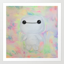 baby baymax Art Print