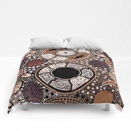Ochre Country Comforters